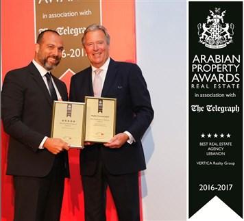Arabian Property Award for Real Estate 2016-2017